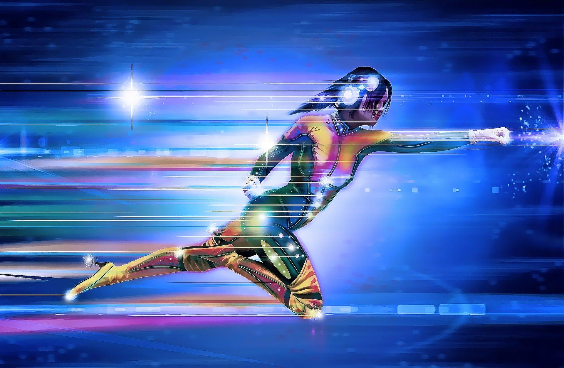 Riverside Web Design - Image of speed
